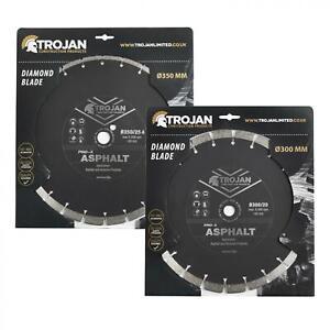 Trojan Pro-X Asphalt Diamond Blade for Cutting Asphalt Sandstone Screed Block