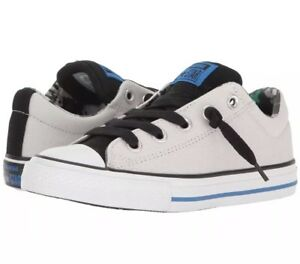 f4489599777 NIB Converse Chuck Taylor All Star High Street Slip Shoes SZ 3 Mouse ...