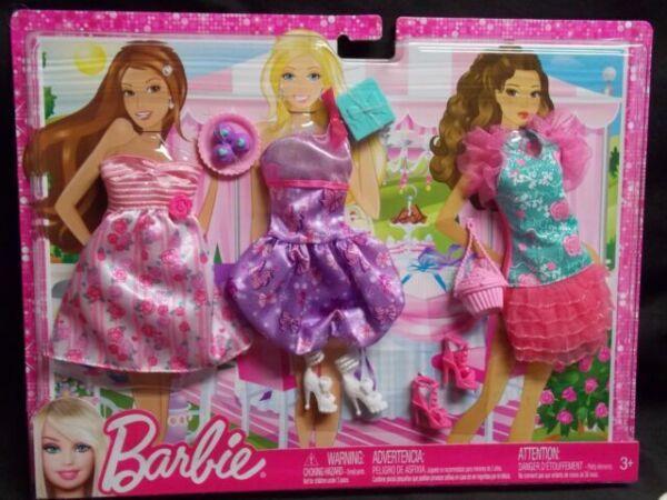 BARBIE LILAC PINK PLEATED DRESS ~ MATTEL KATHERINE FASHIONISTAS FASHION CLOTHES