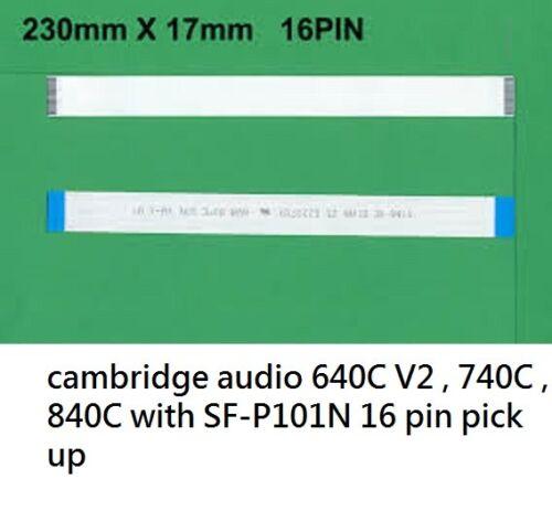2 pcs 16 Pin FLAT FLEX CABLE 230mm x 17mm for SF-P101N 16 optical lens