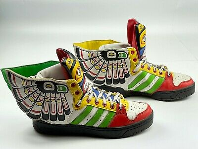 Adidas Originals Jeremy Scott Sneakers Eagle Wings 2.0 Totem Shoes Obyo size 7,5   eBay