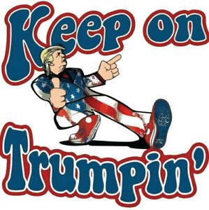 5 LARGE TRUMP 2020 STICKER ANTI DEMOCRAT LIVE OFF GOVT MAGA DEPLORABLE DECALS