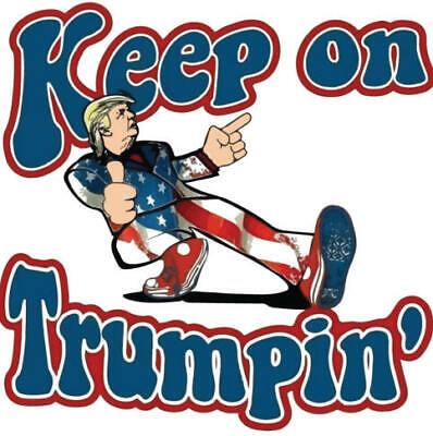 TRUMP 2020 STICKER ANTI DEMOCRAT LIVE OFF GOVT MAGA DEPLORABLE DRAIN SWAMP