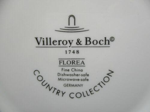 """9 1//2/""""  1302B VILLEROY BOCH FLOREA SOUP BOWL"""