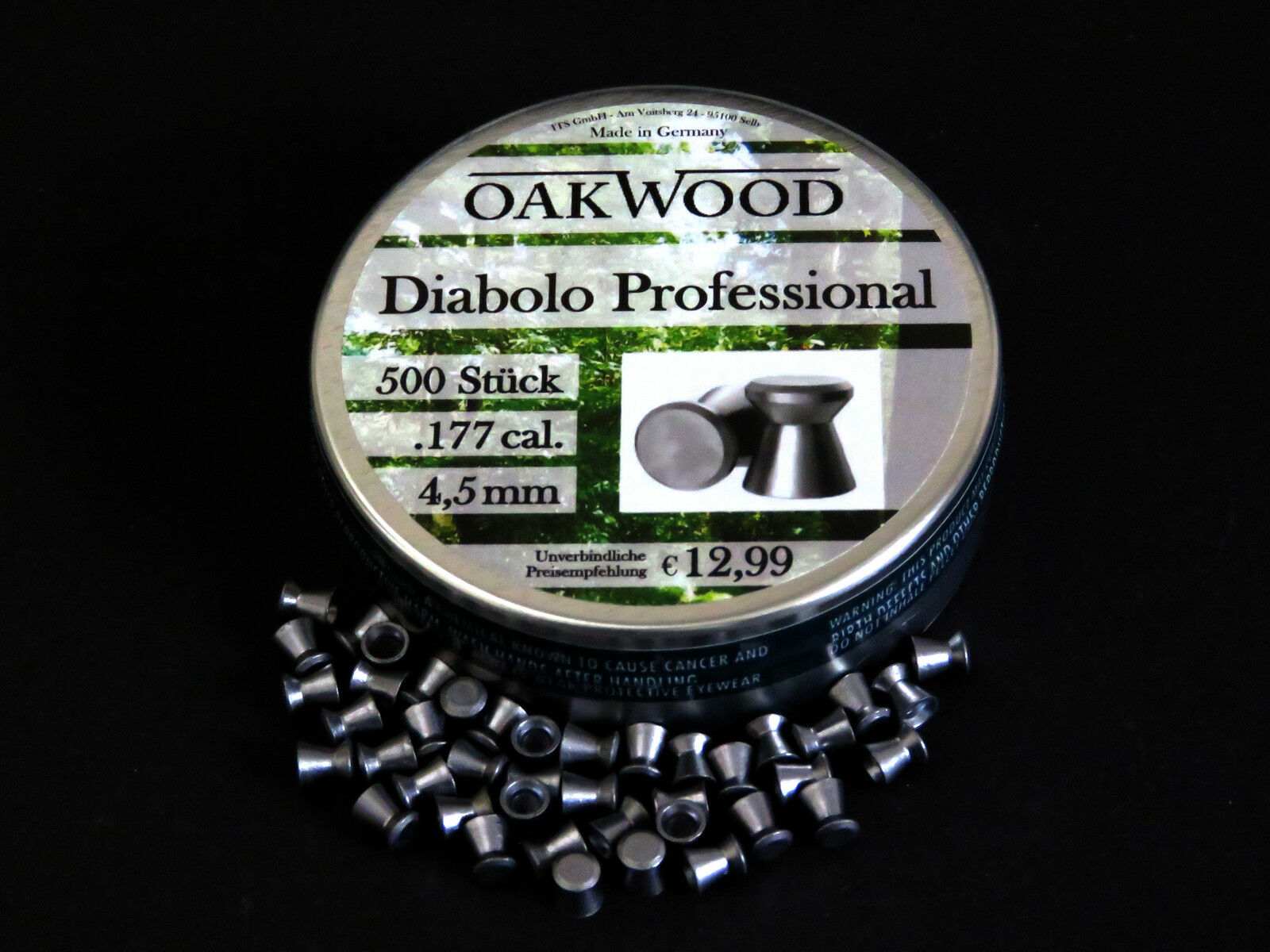 OAKWOOD PROFESSIONAL DIABOLOS -LUFTGEWEHR-4,5MM- STAFFELPREIS-MADE STAFFELPREIS-MADE STAFFELPREIS-MADE IN GERMANY 141c7e