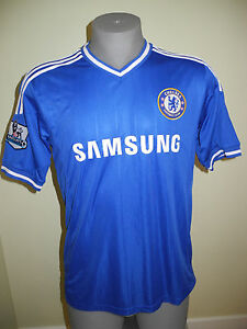 free shipping 5d7bc b4e6d Details about New Youth Chelsea Football Club Samsung Premier League #12  Soccer Jersey