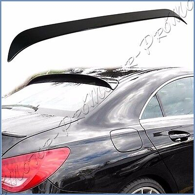 PAINTED 13-16 M-BENZ W117 C117 CLA250 CLA45 4DR OE Type Roof Spoiler Window Tail