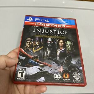 ps4 injustice gods among us ultimate edition playstation hits