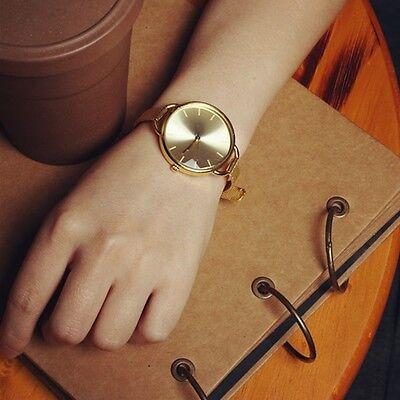 Classic Women's Lady Quartz Stainless Steel Analog Wrist Watch Bracelet Fashion