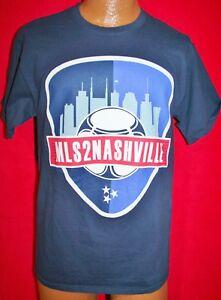 outlet store e6d05 96bf9 Details about MAJOR LEAGUE SOCCER TO NASHVILLE SC MLS Team Promo T-SHIRT XL  Expansion Club