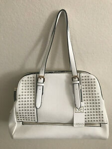 New-White-Urban-Expressions-Handbag-Vegan-Leather-Crossbody