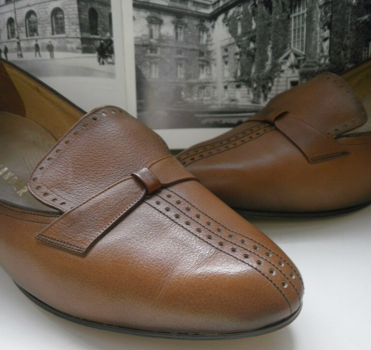 COMOD Damen Pumps SALAMANDER made Germany 50s TRUE VINTAGE Schuhe Halbschuhe 6,5