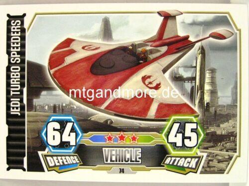 Jedi turbo speeders #074 Force Attax série 3