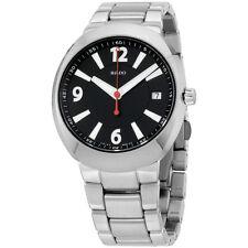 Rado R15943153 Watch D-Star Mens - Black Dial Stainless Steel Case Quartz