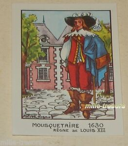 Image-type-Bon-Point-MOUSQUETAIRE-1630-LOUIS-XIII-EDITIONS-EDUCATIVES-CALVET