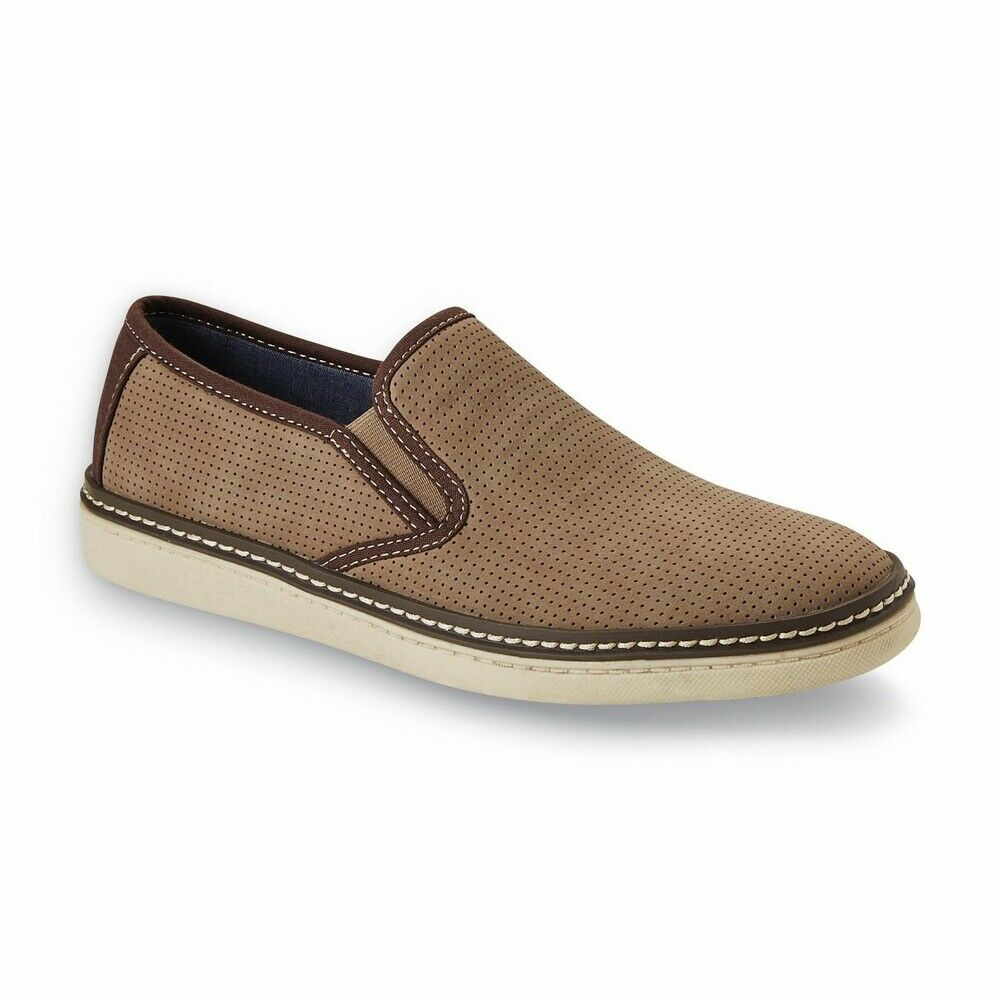 Attention Men's Nova Tan Casual Loafer Shoes 6.5 Medium