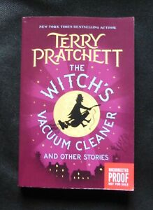 THE WITCH'S VACUUM CLEANER Terry Pratchett US UNCORRECTED PROOF / ARC 1st ED