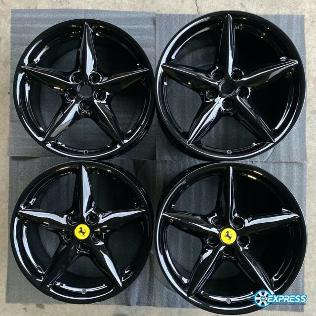 Set Of 4 Chrome Ferrari 360 18 Oem Factory Bbs Wheels Rims 430 Mondial Nh1064 For Sale Online Ebay