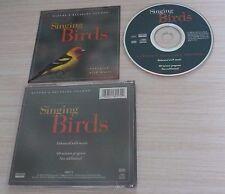 CD ALBUM SINGING BIRDS 60 MINUTES NATURE'S RELAXING SOUNDS 1996