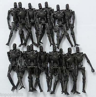 LOT OF 15 Playmates Toys Terminator Salvation - T 700 Endoskeleton - 3.75""