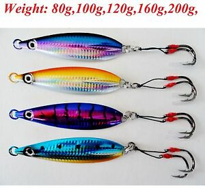 Thunder Jigs Each 7oz //200g Octopus Jigging Saltwater Fishing Lure 3 Pieces