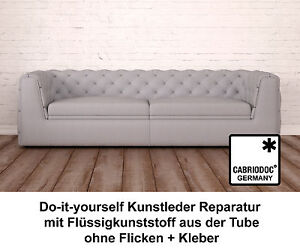 kunstleder reparatur set schwarz m bel bezug sofa sitz stuhl sitzbank bezug ebay. Black Bedroom Furniture Sets. Home Design Ideas