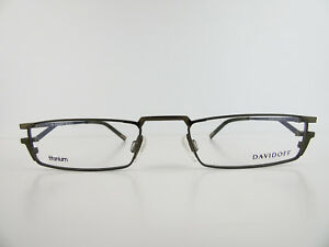 DAVIDOFF TITANIUM FMG 95040 Eyeglasses Brille Goggles lunettes de vue NEU NEW Zpivep