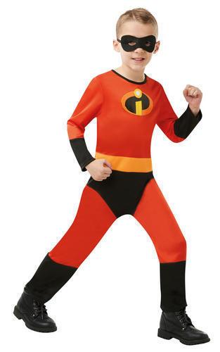 Incredibles 2 Kids Fancy Dress Superhero Boys Girls Disney Childs Costume Outfit