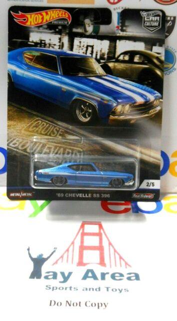 HOT WHEELS 2019 CAR CULTURE CRUISE BOULEVARD /'69 CHEVELLE SS 396 #2//5
