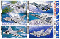 Tamiya 78006 Us Navy Aircraft Set 1 For 1/350 Scale Model Ships