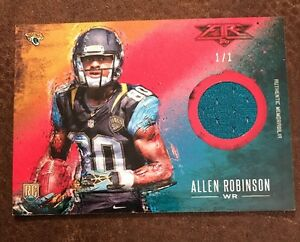 2014 TOPPS FIRE ALLEN ROBINSON RED RELICS JERSEY MASTERPIECE RARE TRUE #1/1
