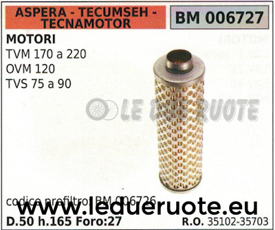 Tecumseh  35102 Carburetor Air Filter