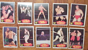 1985-OPC-WRESTLING-SET-WWF-WWE-RANDY-SAVAGE-FROM-VENDING-75-CARDS-ANDRE-RARE