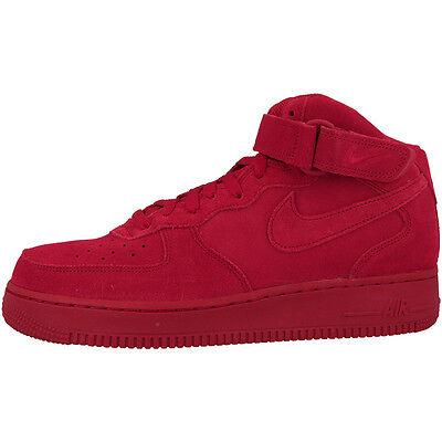 Nike Air Force 1 MID '07 Baskets Excellents gym blanc rouge 315123-609 Jordan