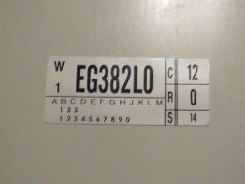 351W ENGINE CODE DECAL ALL 1974 FORD TORINO RANCHERO THUNDERBIRD ELITE COUGAR
