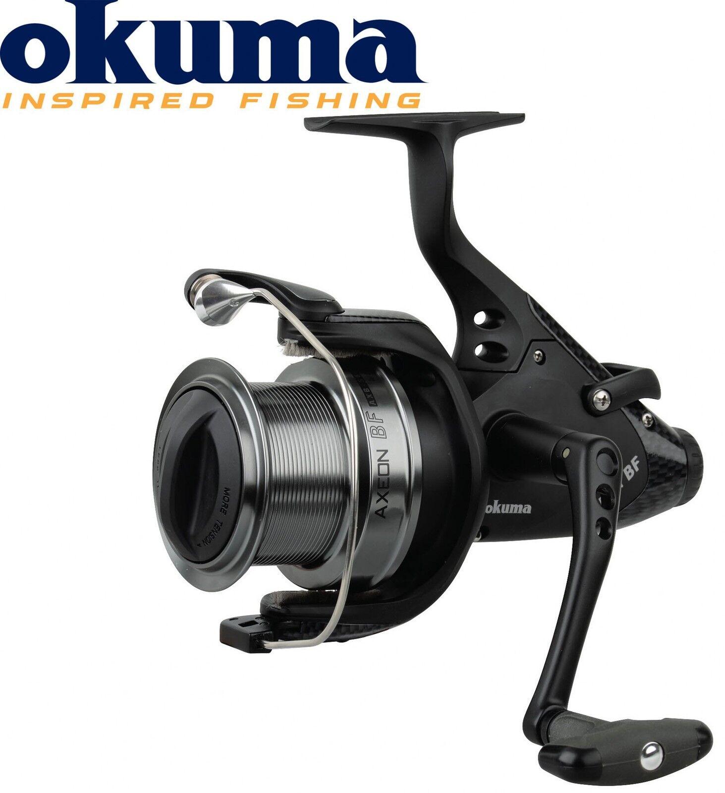 Okuma Axeon Baitfeeder Freilaufrolle AXB-560 – Freilaufrolle Baitfeeder zum Karpfenangeln, Angelrolle d026a7