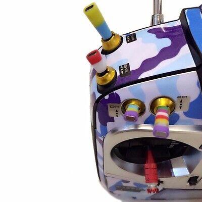 DIY Transmitter Switch Sheath 7 Colors 10cm For Futaba 14SG 18SZ T8 Transmitter