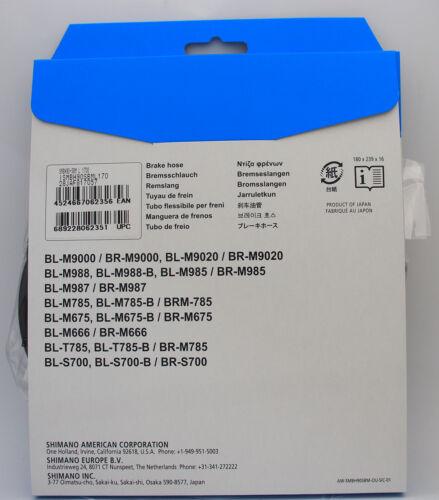 Shimano SM-BH90-SBM 1700mm Disc Brake Hose Kit Black for XTR XT SLX ALFINE