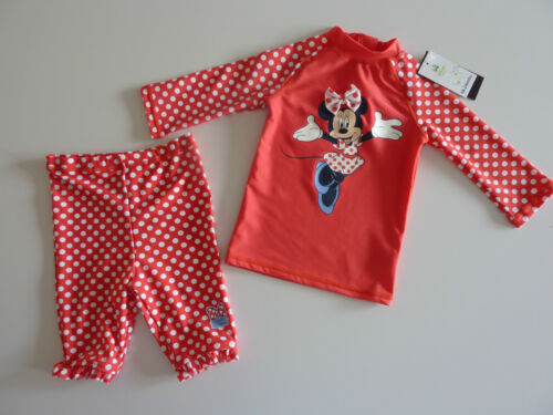 DISNEY Minnie Mouse Really Sweet 2 Piece Sunsafe Set UPF 50 NWT