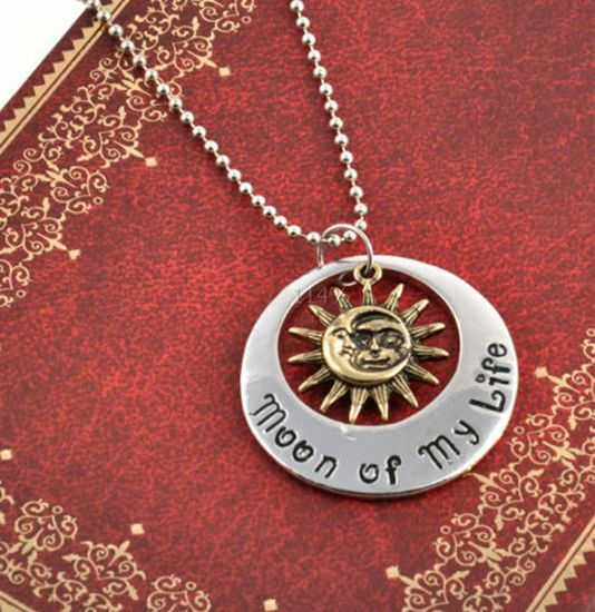 "Vintage ""Game of Thrones"" Khal & Khaleesi Moon of My Life Pendants Necklace"