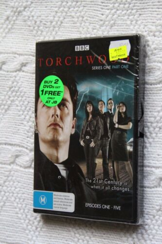 1 of 1 - Torchwood, Series one, Part One (DVD, 2-Disc set), R-4, New, free Shipping