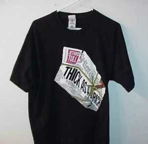 Vintage-1997-Jethro-Tull-THICK-AS-A-BRICK-CONCERT-TOUR-T-SHIRT-SIZE-XL-EXTRA-LG