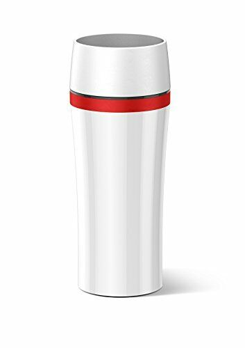 Red Coffee Tea Jug Vacuum Flask 514579 White Emsa Travel Mug Fun 0.36 L White