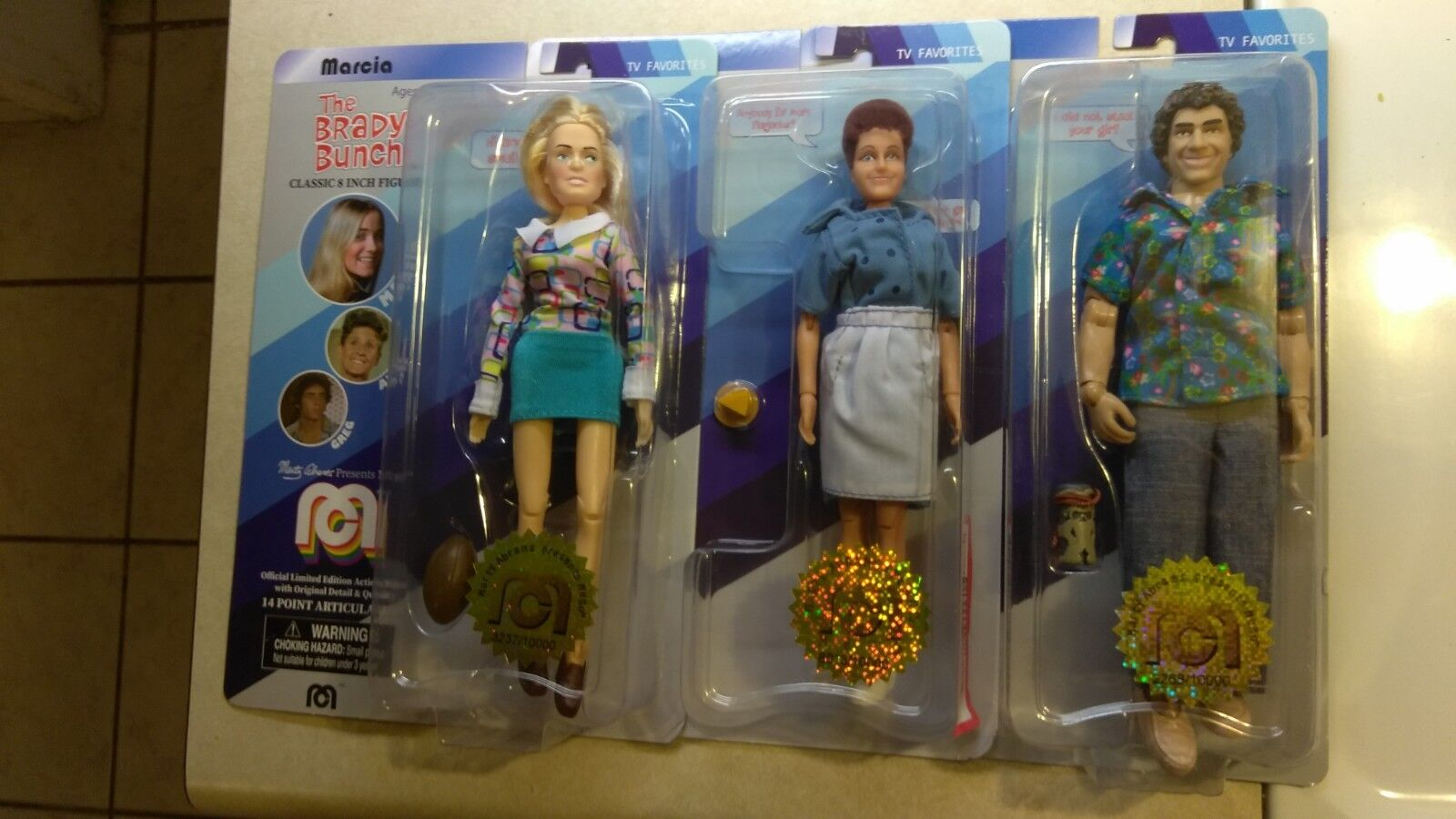 2018 mego action figure the brady bunch greg marshall alice limited edition viele   d