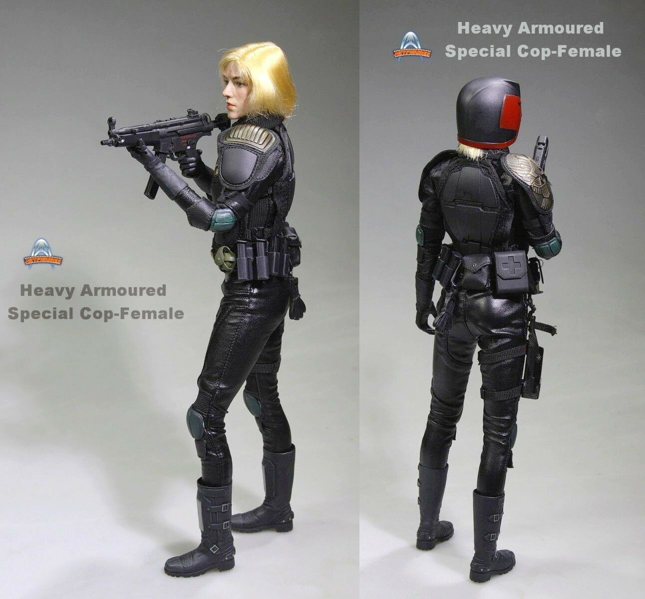 12'' Heavy ArmouROT Special Cop DROTd Figure 1/6 Female Judge Anderson Gril Doll