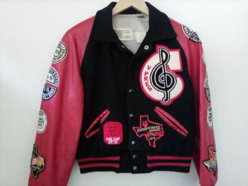 Texas High School Varsity Music Letter Jacket Vtg