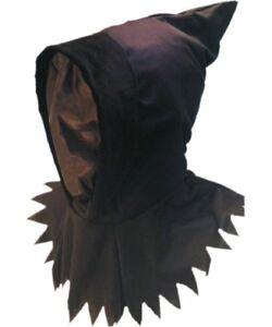 Halloween Hangman | Halloween Hangman Executioner Ghoul Hood And Mask 5020570981528 Ebay