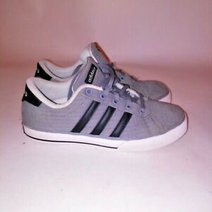 f8d9db027ce Adidas Mens Sneakers Size 5 Gray Black 3 Stripes Neo Label