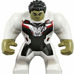 LEGO-Hulk-Big-Fig-Minifigure-sh611-Marvel-Avengers-Endgame-76144-White-Jumpsuit
