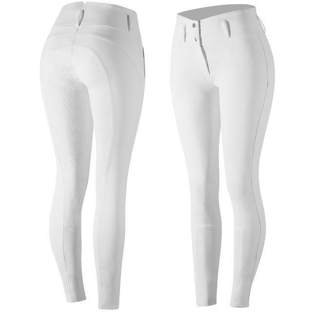 Horze Pantalones de  montar de asiento completo Daniela en blancoo  disfruta ahorrando 30-50% de descuento